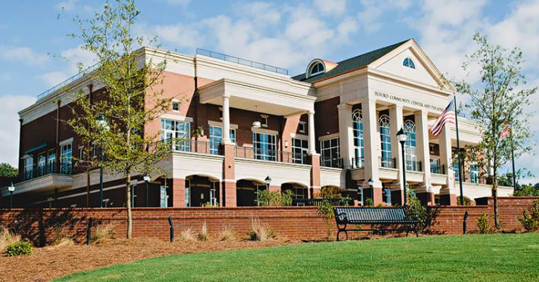 Buford Community Center, Town Park & Theatre